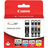 Canon 4530B008 Ink Cartridge - Black, Cyan, Magenta, Yellow - 4530B008