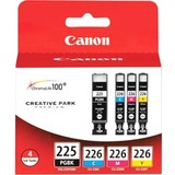 Canon CLI-226 Ink Cartridge - Black, Cyan, Magenta, Yellow - 4546B007