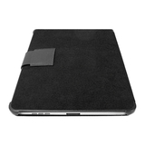 Macally BOOKSTANDB Tablet PC Case - MicroFiber - Black