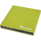 PC Treasures 07185 DVD-Writer - Green - External