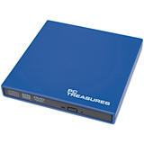 PC Treasures 07187 DVD-Writer - Blue - External