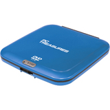 PC Treasures 07254 DVD-Reader - Blue - External