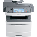 Lexmark X464DE Laser Multifunction Printer - Monochrome - Plain Paper Print - Desktop
