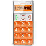 ACP - Memory Upgrades Just5- Mobile Handset GSM Compatible 'Unlocked' Orange