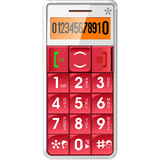 ACP - Memory Upgrades Just5- Mobile Handset GSM Compatible 'Unlocked' Red