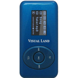 Visual Land V-Clip Pro ME-953 2 GB Blue Flash MP3 Player