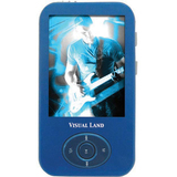 Visual Land V-Motion Pro ME-964 4 GB Blue Flash Portable Media Player