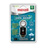 Maxell myGEN Data Backup Flash Drive - 8 GB