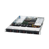 SYS-1026T-6RFT+ - Supermicro SuperServer 1026T-6RFT+ Barebone System - 1U Rack-mountable - Intel 5520 Chipset - Socket B LGA-1366 - 2 x Processor Support
