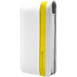 MARWARE Accent 602956008286 Smartphone Case - Flip - Leather, Suede - White, Yellow
