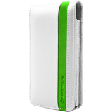 MARWARE Accent 602956008408 Smartphone Case - Flip - Leather - White, Green
