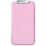 iLuv iCC734 Smartphone Case - Flip - Leather - Pink