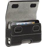 Griffin GB01708 Smartphone Case - Holster - Leather - Black