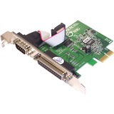 SIIG Cyber JJ-E00011-S3 PCIe Serial/Parallel Adapter JJ-E00011-S3