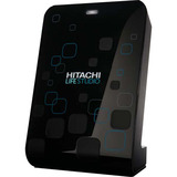 Hitachi LifeStudio Desk HLSDBUB20001BBB 2 TB External Hard Drive