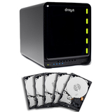 Data Robotics Drobo FS DS2A2-10EARS-5 NAS Hard Drive Array