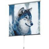 "Draper Luma 207205 Manual Projection Screen - 100"" - 16:9 - Ceiling Mount, Wall Mount 207205"