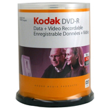 Kodak DVD Recordable Media - DVD-R - 16x - 4.70 GB - 100 Pack Spindle - 50300