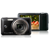 GE Power E1486TW 14.1 Megapixel Compact Camera - 5.10 mm-40.80 mm - Black