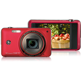 General Imaging E1486TW 14.1 Megapixel Compact Camera - 5.10 mm-40.80 mm - Red