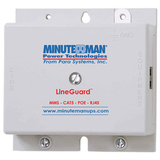 Minuteman LineGuard MMS-CAT5-POE-RJ45 Surge Suppressor - MMSCAT5POERJ45