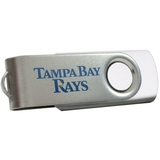 Centon DataStick Swivel MLB Tampa Bay Rays Flash Drive - 8 GB