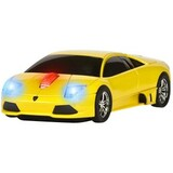 Road Mice Lamborghini Murcielago Car Mouse - Optical - Wireless - Radio Frequency - Yellow