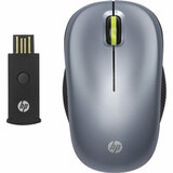 HP WX412AA Mouse - Optical Wireless - Radio Frequency - Silver