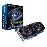 GIGA-BYTE GV-N460OC-1GI GeForce GTX 460 Graphics Card - PCI Express 2.0 - 1 GB GDDR5 SDRAM
