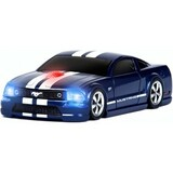 Road Mice Ford Mustang Mouse - Optical Wireless - Blue, White