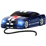 Road Mice Ford Mustang GT Mouse - Optical Wired - Blue, White