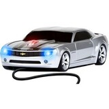 Road Mice Chevy Camaro Mouse - Optical Wired - Black, Silver