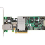 LSI Logic 9750-4i4e SAS RAID Controller - Serial ATA/600, Serial Attached SCSI - PCI Express 2.0 x8 - Plug-in Card