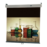 "Draper Luma 207119 Manual Projection Screen - 120"" - 4:3 - Wall Mount, Ceiling Mount 207119"