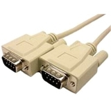 Cables Unlimited PCM-2120-15 Serial Data Transfer Cable - 15 ft - Beige
