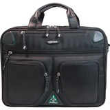 Mobile Edge ScanFast MESFBC2.0 Notebook Case - Briefcase - Sorona - Black