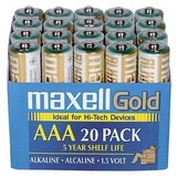 Maxell AAA Alkaline General Purpose Battery 723849