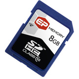 EP Memory EPSDHC/8GB-10 8 GB Secure Digital High Capacity (SDHC) - 1 C - EPSDHC8GB10