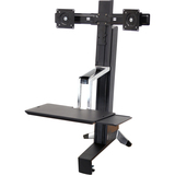 Ergotron WorkFit-S 33-341-200 Display Stand - 33341200