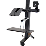 Ergotron WorkFit-S 33-340-200 Display Stand - 33340200