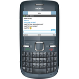 Nokia C3 Cellular Phone - Bar - Slate Gray