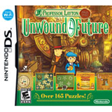 Nintendo Professor Layton and the Unwound Future