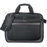 Solo Sterling CLA103-4 Notebook Case - Briefcase - Ballistic Poly - Black