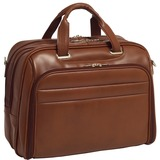 McKlein 86594 Notebook Case - Leather - Brown