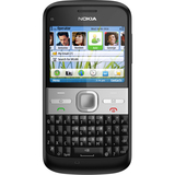 Nokia E5 Smartphone - Bar - Black