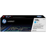 HP No. 128A Toner Cartridge - Cyan
