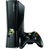 Microsoft Xbox 360 RKB-00001 Slim Gaming Console with Game Pad