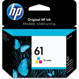 HP No. 61 Ink Cartridge - Cyan, Magenta, Yellow - CH562WN