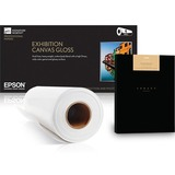Epson S042303 Fine Art Paper - 17 x 50 ft - Textured, Matte