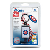 Centon DataStick Keychain MLB Chicago Cubs Flash Drive - 16 GB